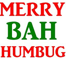 MERRY BAH HUMBUG by Divertions
