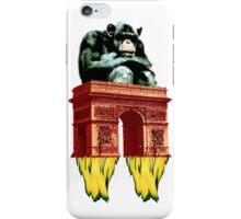 popart monkey - spaceship iPhone Case/Skin