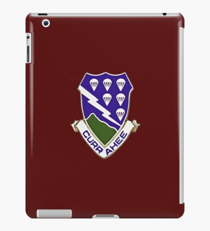Currahee - 506th Infantry - 101st Airborne  iPad Case/Skin