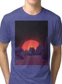80s Vaporwave Retro Tri-blend T-Shirt