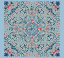 Gypsy Floral in Red & Blue Kids Clothes