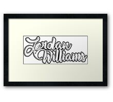 Jordan Williams Designs' Framed Print