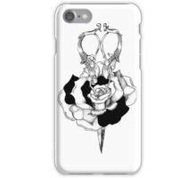 Rose and Scissors  iPhone Case/Skin