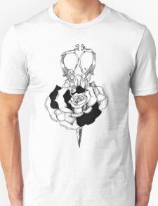 Rose and Scissors  Unisex T-Shirt