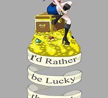 Lady Luck by LillyKitten