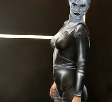 Bodypainted Woman by Rob Emery