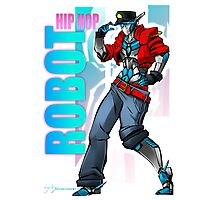 Hip Hop Robot! Photographic Print
