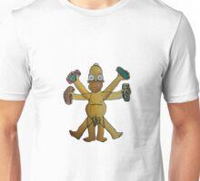 Homer del Vitruvio Unisex T-Shirt