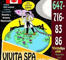 Vivita Spa, Toronto, Ontario, Canada Poster Artwork by vivitaspa