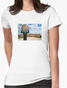 Full Moon Over Vienna Womens Fitted T-Shirt