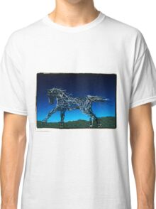 Abstract Horse Classic T-Shirt