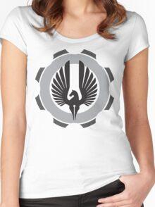 DarkHorse Design Logo Slate Women's Fitted Scoop T-Shirt