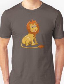 Cute funny cartoon lion sitting T-Shirt