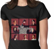 Bloodsucking Brady Bunch Womens Fitted T-Shirt