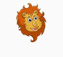 Head of smiling cartoon lion Unisex T-Shirt
