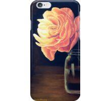 Flower and Mason Jar iPhone Case/Skin
