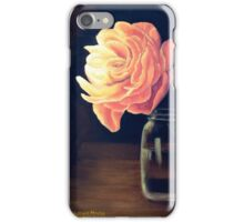 Flower and Mason Jar iPhone Case/Skin