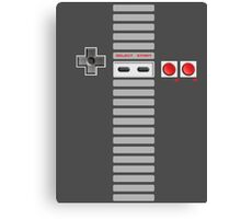 NES Buttons (Full Stripes) Canvas Print