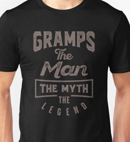 Gramps The Man T-shirt Gift! Unisex T-Shirt