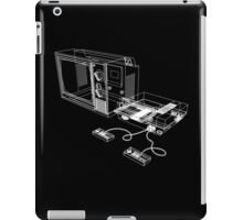 NES and TV Wireframe iPad Case/Skin