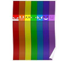 Rainbowkémon Poster