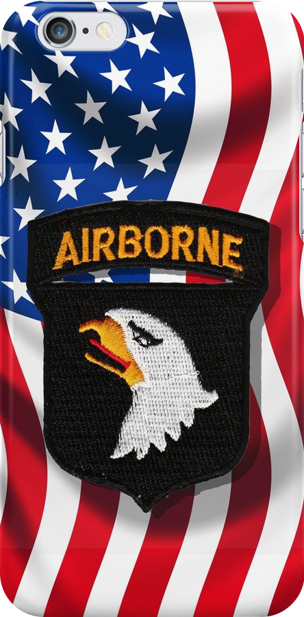 101st Airborne - American Flag by Buckwhite