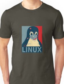 Tux red, white, and blue Unisex T-Shirt