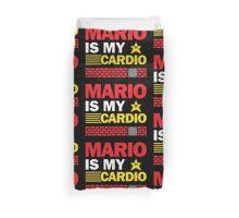 Mario Is My Cardio Duvet Cover
