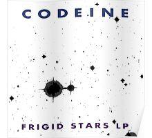 Codeine- Frigid Stars LP Poster