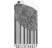 finger print iPhone Case/Skin