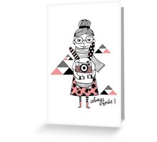 Always smile.  Greeting Card