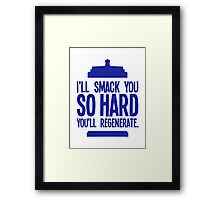 Doctor Who - Clara Oswald Quote #1 Framed Print