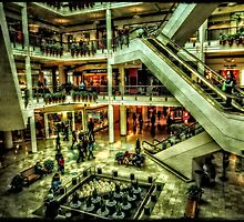 Inside Pioneer Place by thomr