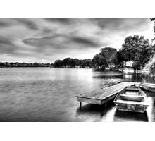 McHenry Dam Boat Dock Photographic Print