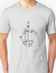 Skeleton hand gesture  T-Shirt