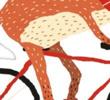 mr. fox Sticker