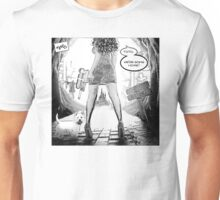 Toto, we're going home!  (B&W Variant) Unisex T-Shirt