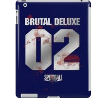 Speedball 2 - Brutal Deluxe Jersey - Steel and Blood iPad Case/Skin