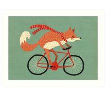 mr. fox Art Print