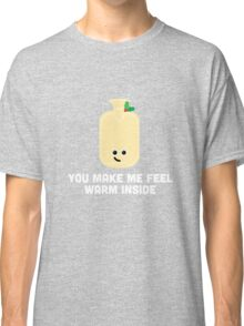 Christmas Character Building - You make me feel warm inside Classic T-Shirt