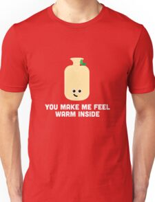 Christmas Character Building - You make me feel warm inside Unisex T-Shirt