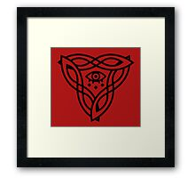 The Underseer Framed Print