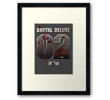 Speedball 2 - Brutal Deluxe 02 Framed Print