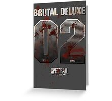 Speedball 2 - Brutal Deluxe 02 Greeting Card