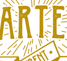 House Martell Typography Sticker