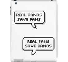 Real Bands, Real Fans iPad Case/Skin
