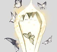 Butterfly Village by Fireflyink