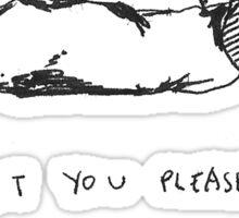 5 Seconds Of Summer Voodoo Doll lyrics Sticker