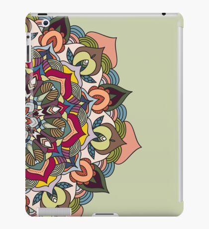 Colorful mandala design iPad Case/Skin