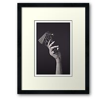 No, but I'm afraid of you Framed Print